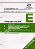 Download Approved Document E 2003 edition