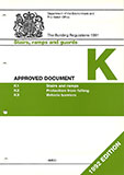 Approved Document K 1992 edition