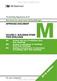Approved Document M - Volume 2: Buildings other than dwellings